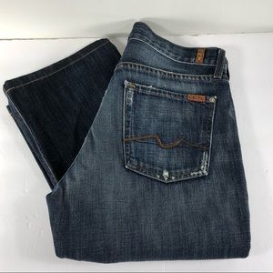 7 FAM Relaxed Button Fly Jeans Size 32/32